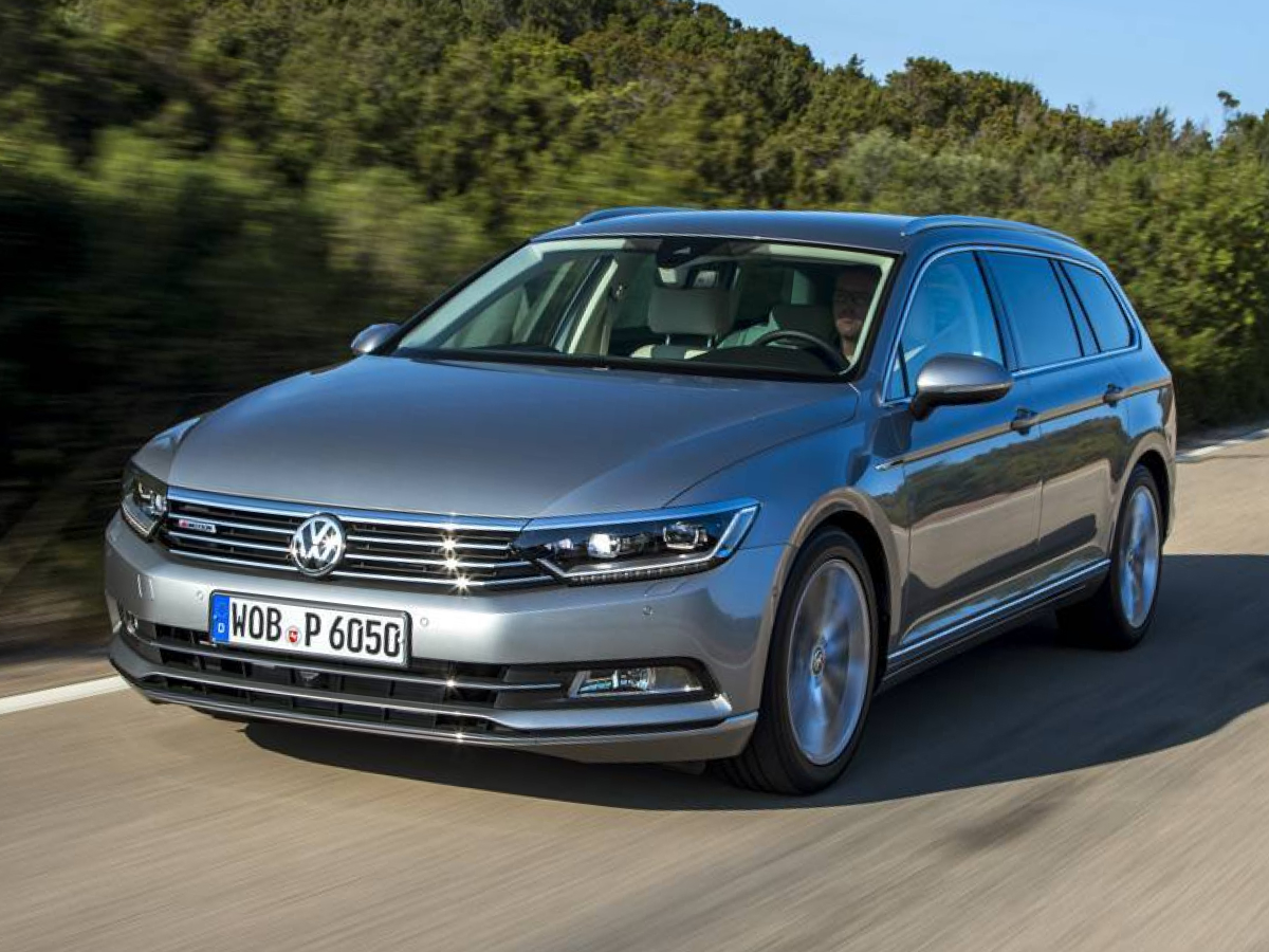 VW Passat gold na prenájom